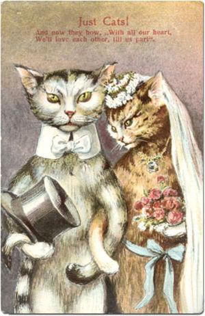 300px-Cat-Wedding-Postcard